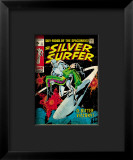 Marvel Comics Retro: Silver Surfer Comic Book Cover 11, Bitter Victory Framed Giclee Print