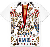 Elvis -  Eagle Jumpsuit Bluse