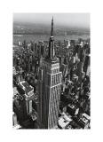 Christopher Bliss - Empire State Binası - Giclee Baskı