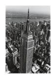 Edificio Empire State Lámina giclée por Christopher Bliss