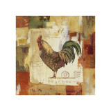 Colorful Rooster II Giclee Print by Lisa Audit