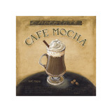 Caf&#233; Mocha Giclee Print by Lisa Audit
