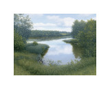 Summer Inlet Giclee Print by  Arzt