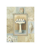 Tranquil Bath I Giclee Print by Lisa Audit