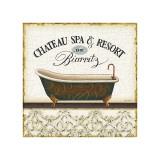 Spa and Resort I Reproduction procédé giclée par Lisa Audit