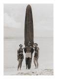 Tom with Kalahuewehe, 1937 Lámina giclée por Tom Blake