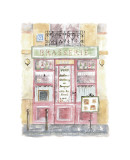 Brasserie Giclee Print by Jane Claire
