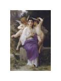 El despertar del corazón Lámina giclée por William Adolphe Bouguereau