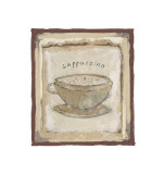 Cappuccino Giclee Print by Jane Claire