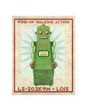 Lois Box Art Robot Giclee Print by John Golden