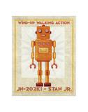 Stan Jr. Box Art Robot Giclee Print by John Golden