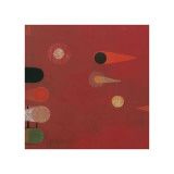 Red Seed, no. 6 Giclee Print by Bill Mead