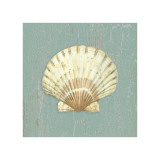Scallop Shell Giclee Print by Lisa Danielle