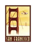 San Francisco Giclée-tryk af Steve Forney