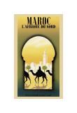 Maroc l'Afrique du Nord Giclée-tryk af Steve Forney
