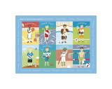 What's Your Favorite Sport Giclee Print by Catrina Genovese