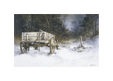 Edge of the Wood Giclee Print by Ray Hendershot