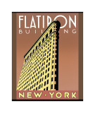 Flatiron Building Gicle-tryk af Brian James
