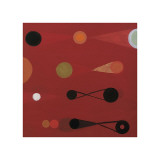 Red Seed, no. 13 Giclee Print by Bill Mead