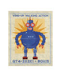 Boris Box Art Robot Giclee Print by John Golden