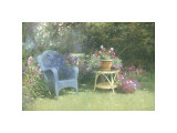 Garden Corner Giclee Print by Allan Myndzak