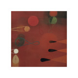 Red Seed, no. 30 Giclee Print by Bill Mead