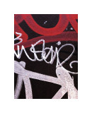 Red Black Tag I Giclee Print by Jenny Kraft