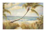 Shoreline Palms I Giclee Print by Marc Lucien