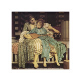 Music Lesson Giclee Print by Frederick Leighton