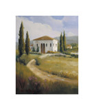 Tuscany Afternoon Giclee Print by  Hawley