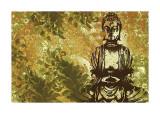 Zen Garden Giclée-tryk af Erin Clark