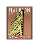 Flatiron Building Giclee Print by Brian James