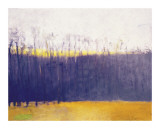 Gray-Violet Landscape Giclee Print by Wolf Kahn