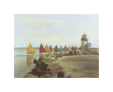 The Rainbow Fleet Giclee Print by H. Marshall Gardiner