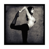 Natarajasana, posture du danseur cosmique, yoga Impression giclée par Gosia Janik