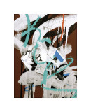 Aqua Tag I Giclee Print by Jenny Kraft