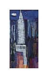New Yorks skyline Giclée-tryk af Mark Gleberzon