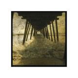 Pier Break Giclee Print by John Golden