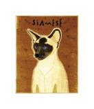 Siamese Giclee Print by John Golden