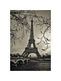 Curves of Eiffel Giclee Print by Sabri Irmak