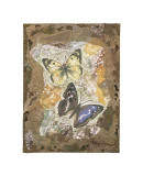 Honeycomb Butterflies Giclee Print by David Hewitt