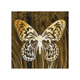 Butterflies and Leaves II Giclee Print by Erin Clark
