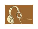 Lunastrella Headphones Giclee Print by John Golden