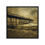 Ocean Pier No. 3 Giclee Print by John Golden