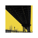 Yellow Underpass Giclee Print by Erin Clark