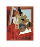 Flowers on the Table Giclee Print by Juan Gris