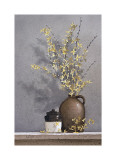 Forsythia Giclee Print by Ray Hendershot