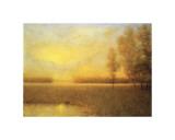 Sunrise Haze Lámina giclée por Joseph P. Grieco