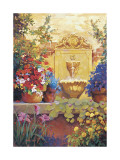 Patio Fountain Lmina gicle por Hawley