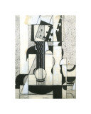 Still Life with Guitar Giclee Print by Juan Gris